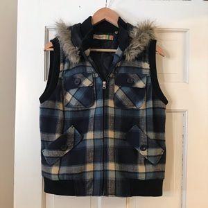 True Grit Dry Goods Hooded Vest